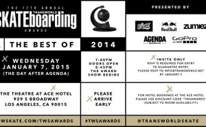 Transworld Skateboarding Awards