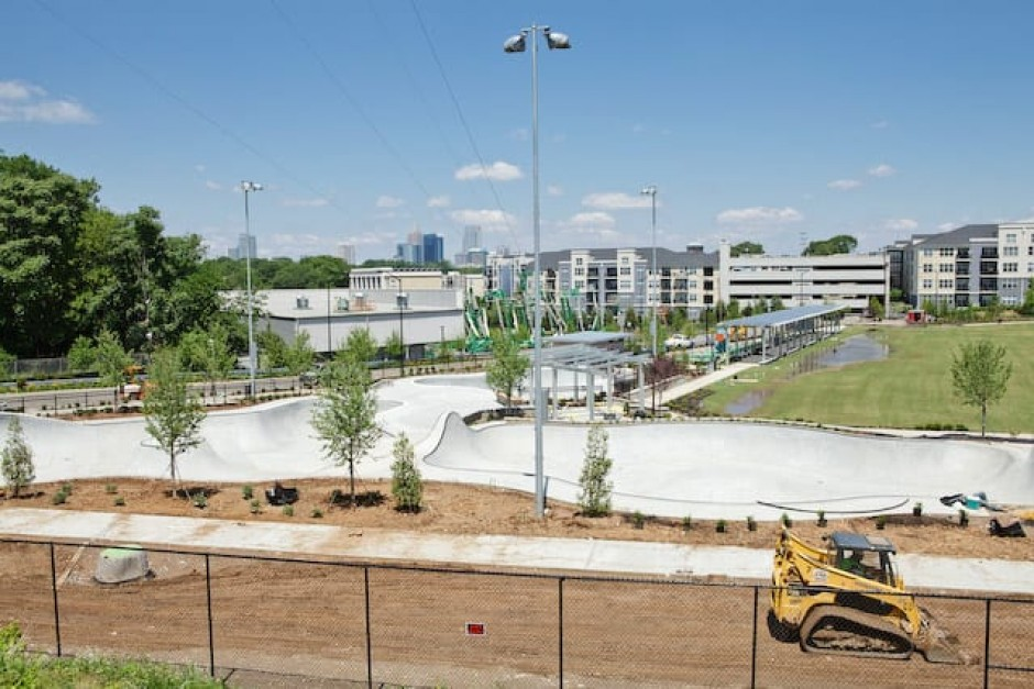 First Skatepark in Atlanta