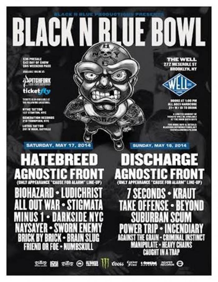 2014 Black N Blue Bowl in Brooklyn, NY