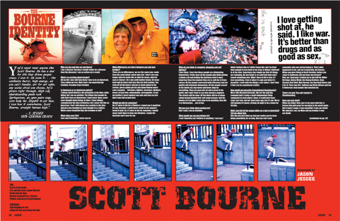 SCOTT BOURNE