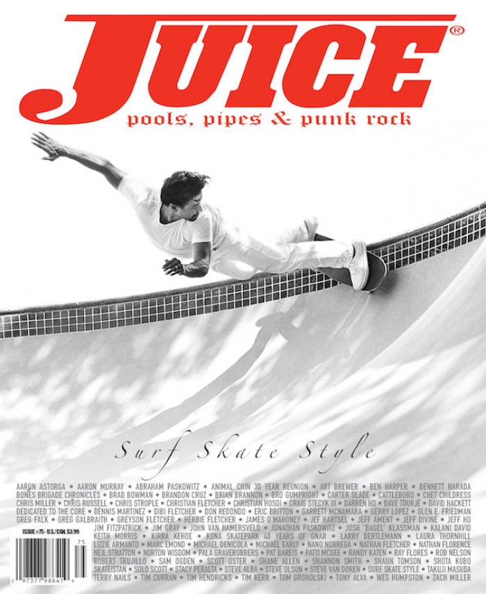 JUICE 75 SURF SKATE STYLE SCOTT OSTER COVER