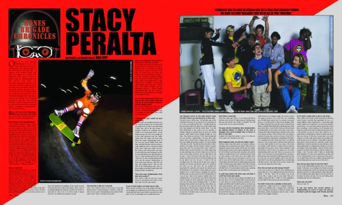 STACY PERALTA - BONES BRIGADE CHRONICLES