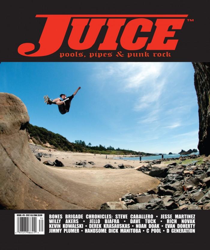 Juice Magazine 70 Cover