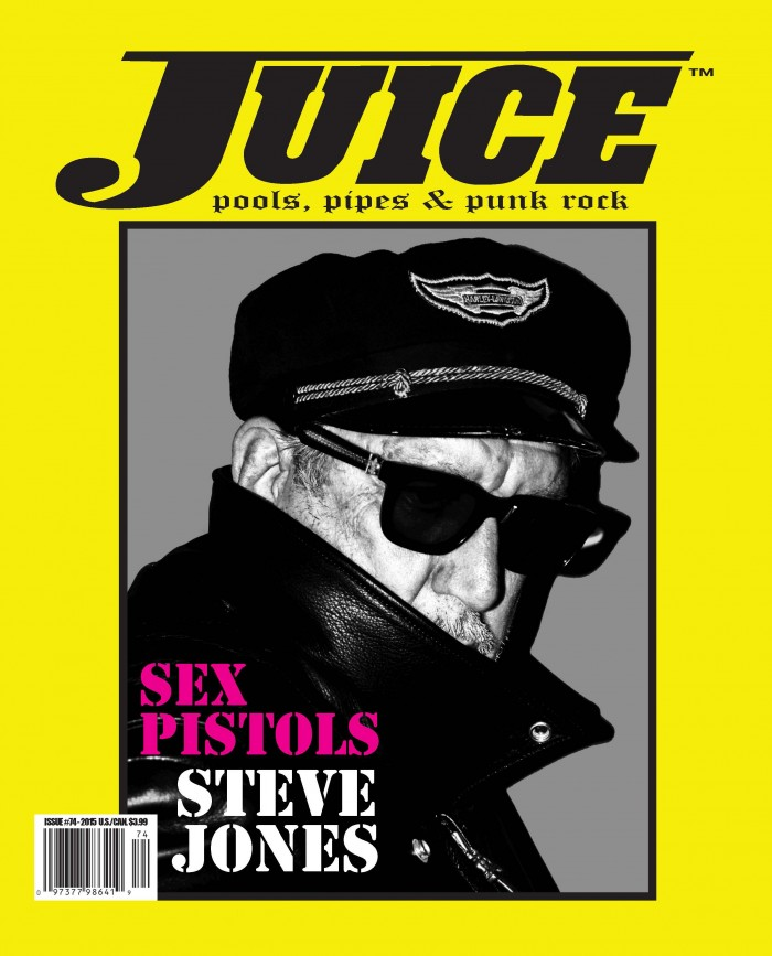 Juice 74 Steve Jones Sex Pistols Cover