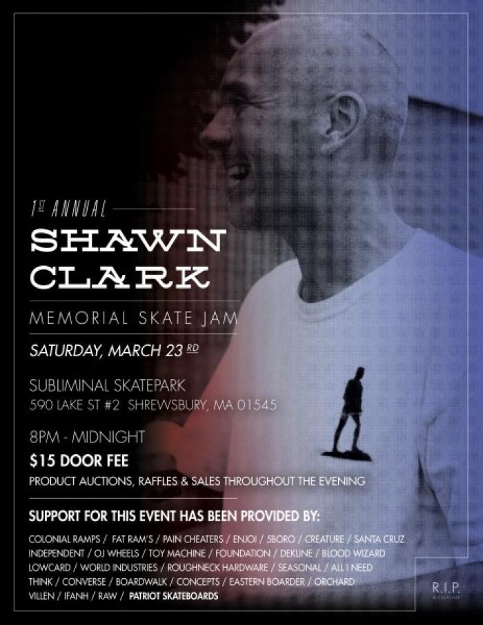 Shawn Clark Memorial Skate Jam