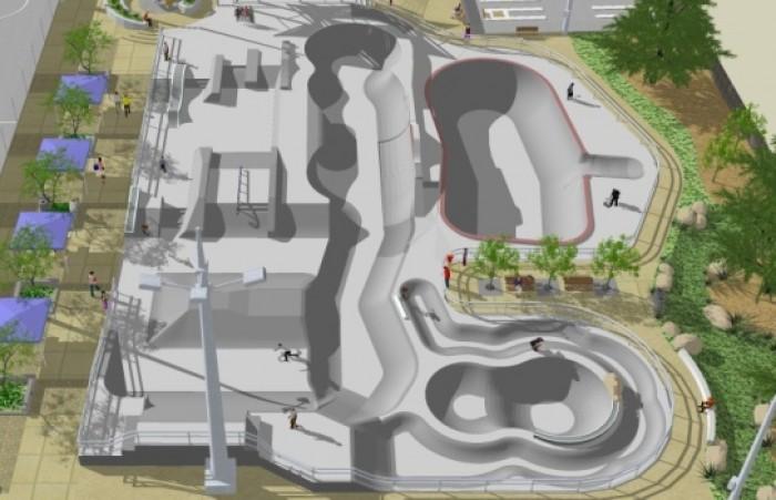 San Luis Obispo Skatepark Design