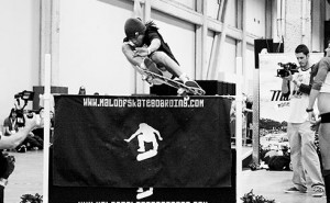 Aldrin Garcia Highest Ollie at Maloof High Ollie Contest - Vegas