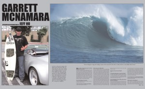 GARRETT MCNAMARA photos by Jeff Ho and Bo Bridges