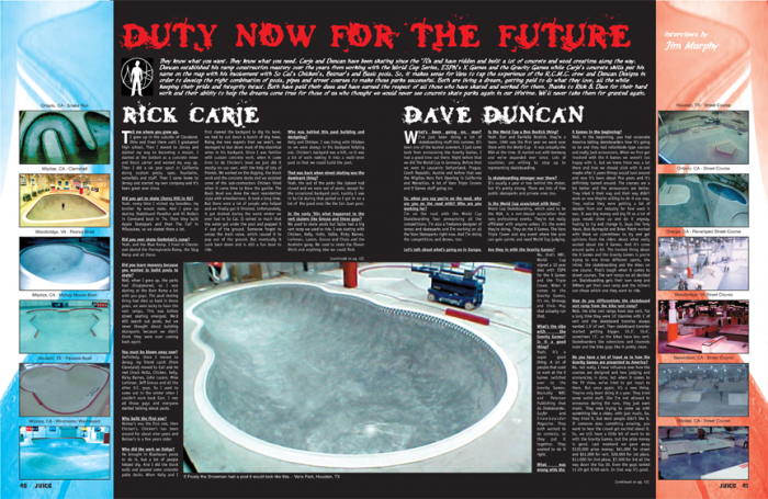 DUTY NOW FOR THE FUTURE - RICK CARJE