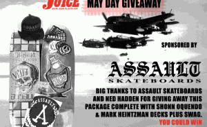 Assault Skates May Day Giveaway