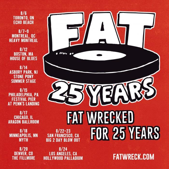 Fat Wreck Chords Turns 25 Juice Magazine