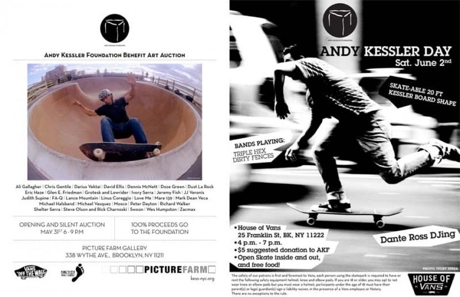 Andy Kessler Art Auction & Benefit & Andy Kessler Day