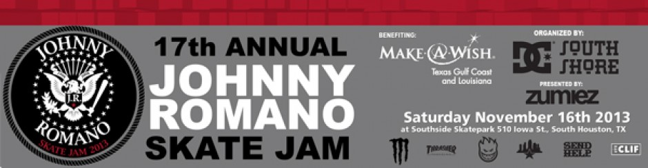 17th Annual Johnny Romano Skate Jam