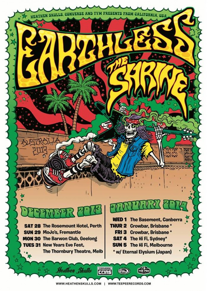 Earthless & The Shrine On Tour!