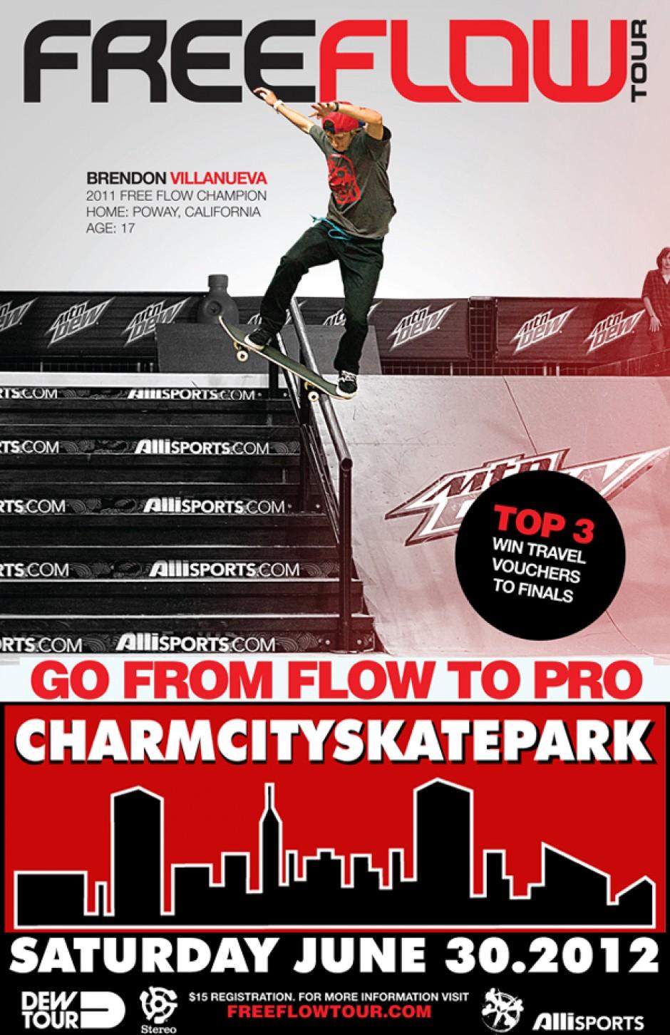 Free Flow Tour at Charmcity Skatepark