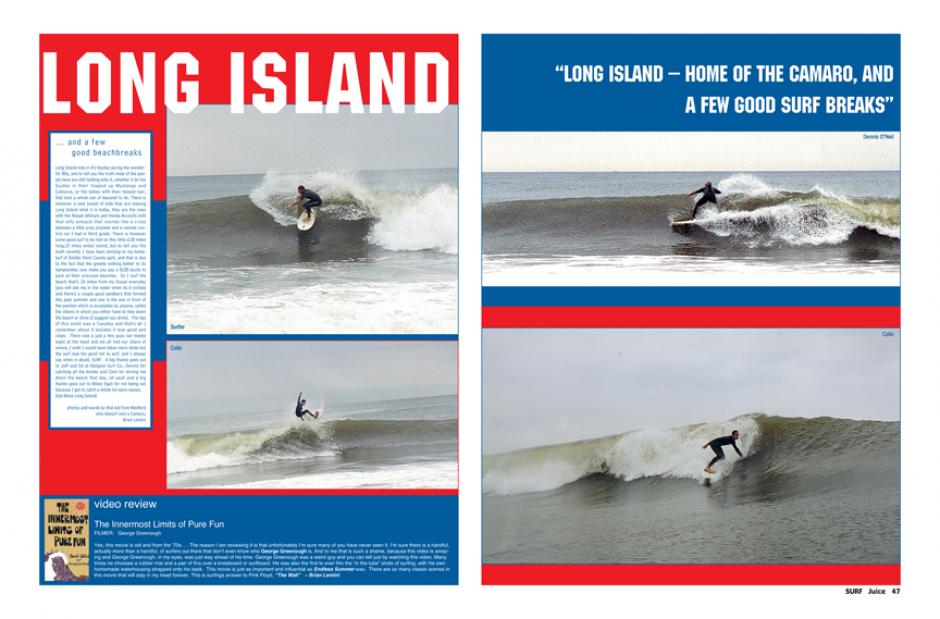 LONG ISLAND SURF