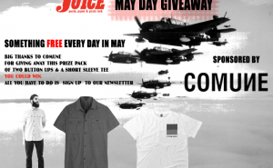 Comune May Day Giveaway