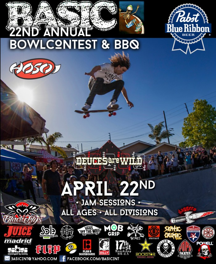 e6bfc1772b 22nd Annual Basic Bowl BBQ Skate Contest and Jake Piasecki Memorial Session