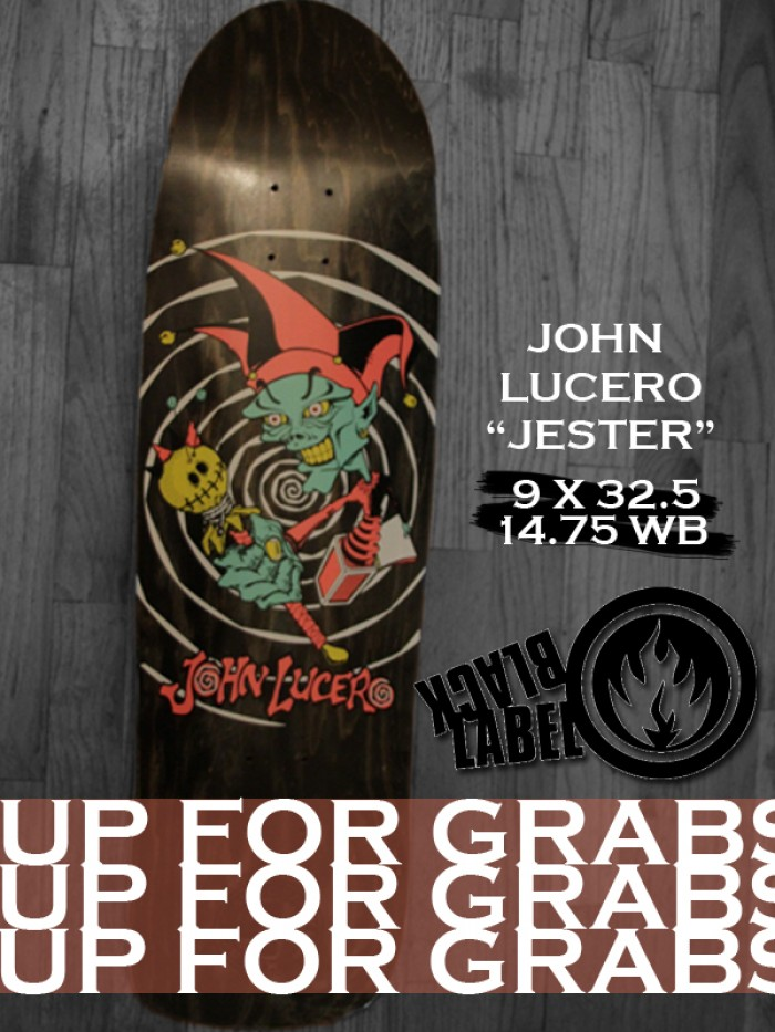 John Lucero Black Label Up for Grabs
