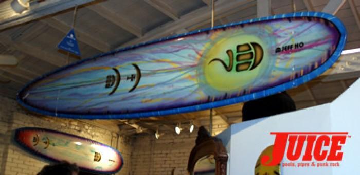 Zephyr board. Photo: Dan Levy