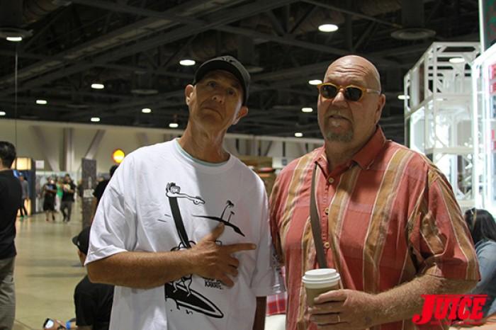Stecyk and Skip Engblom. Photo: Dan Levy