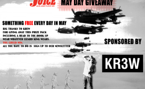 Krew May Day Giveaway