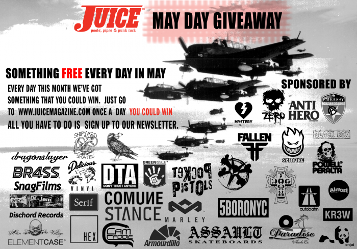 Juice Magazine May Day Giveaway