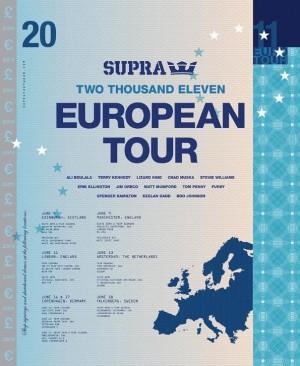 Supra European Tour