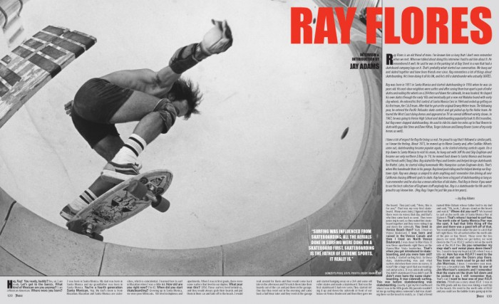 RAY FLORES