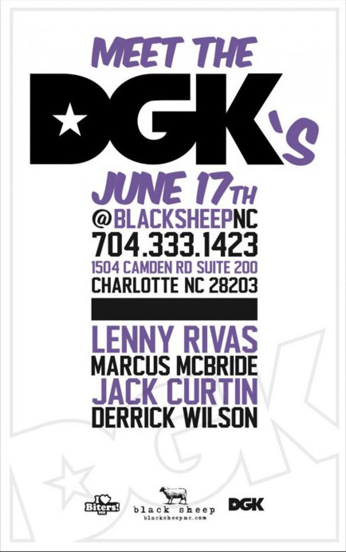 DGK Demo at BlackSheep