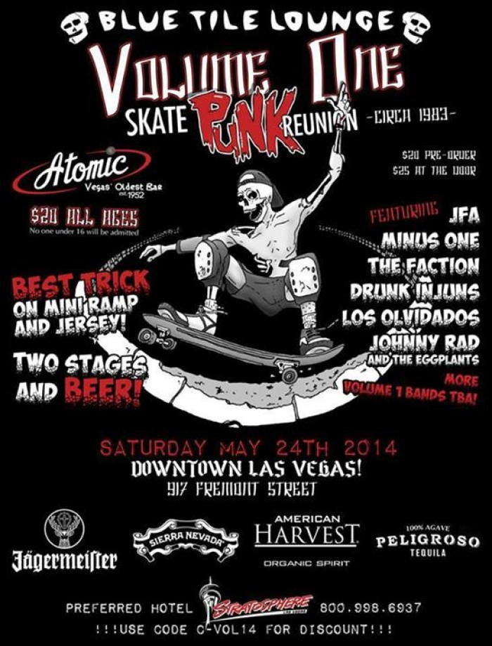 Skate Punk in Las Vegas 2014