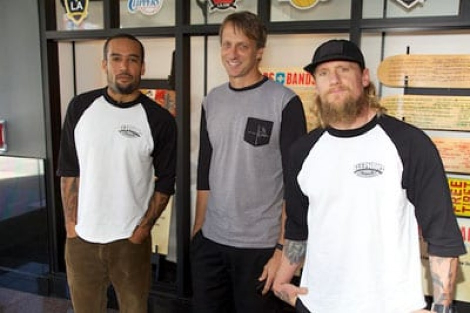 Ben Harper, Tony Hawk and Mike Vallely