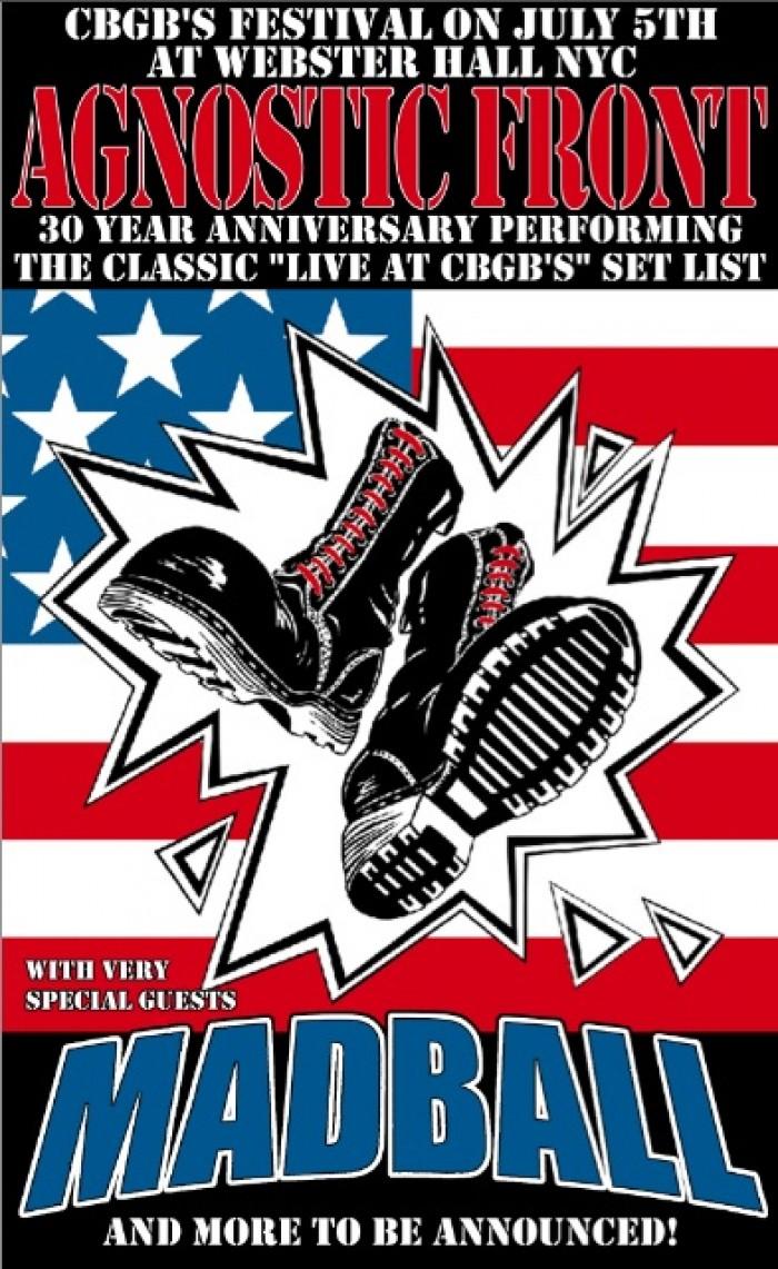 Agnostic Front & Madball Live at CBGBs Album