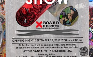 Board Rescue Skate Art Show