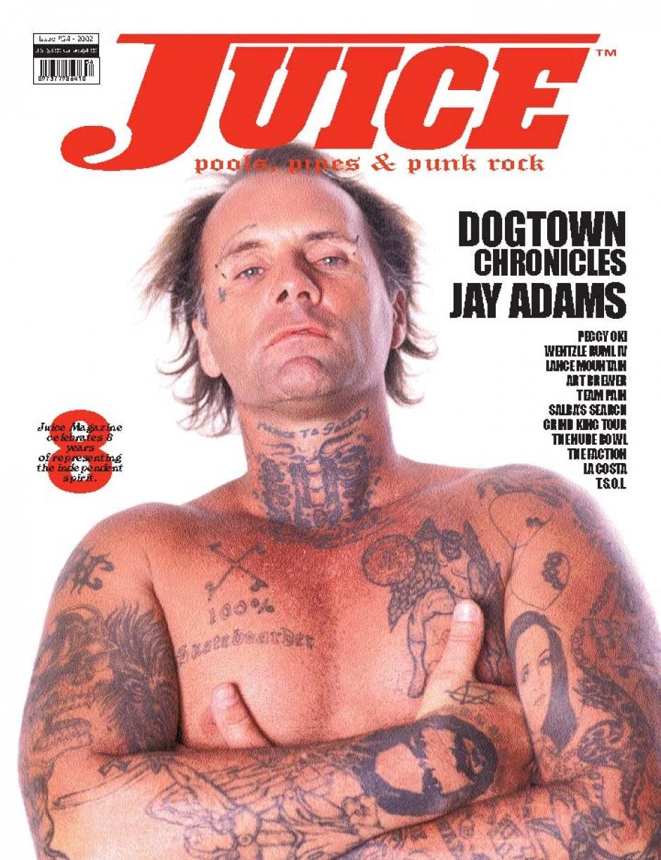 JUICE MAGAZINE 54 JAY ADAMS