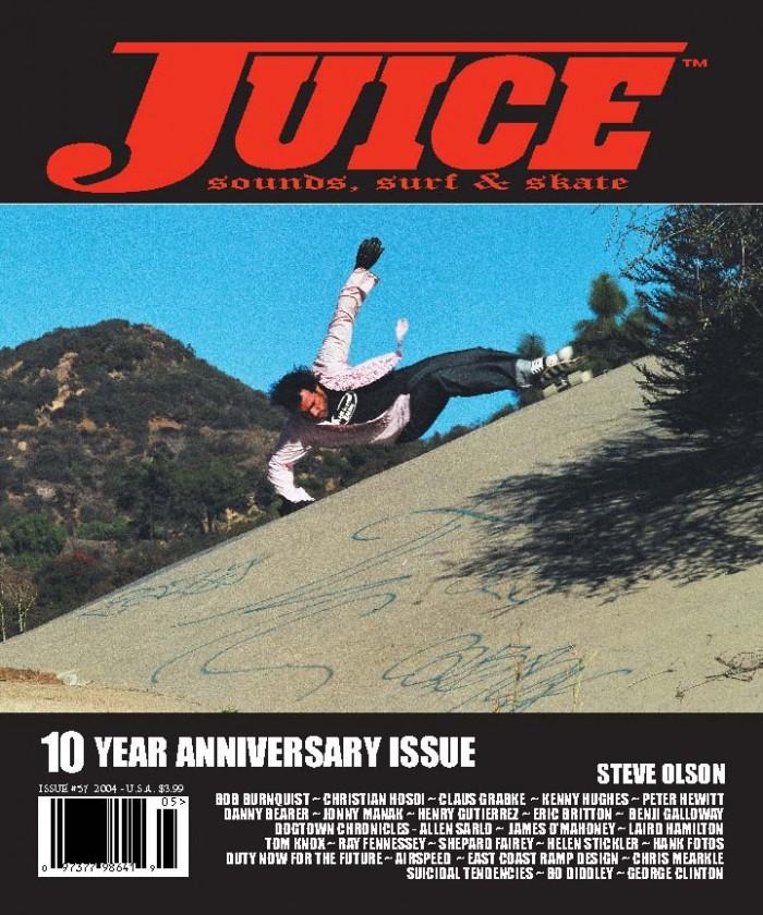 JUICE MAGAZINE 57 STEVE OLSON