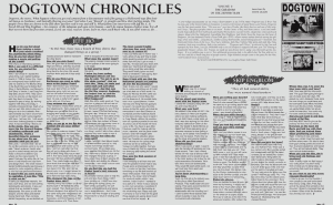 DOGTOWN CHRONICLES: SKIP ENGBLOMDOGTOWN CHRONICLES: SKIP ENGBLOM