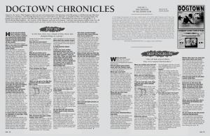 DOGTOWN CHRONICLES: SKIP ENGBLOMDOGTOWN CHRONICLES: SKIP ENGBLOM