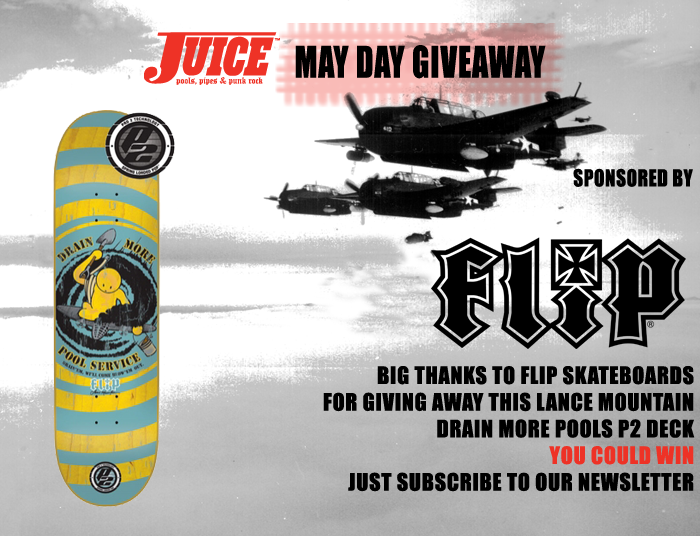 Flip Skateboards May Day Giveaway