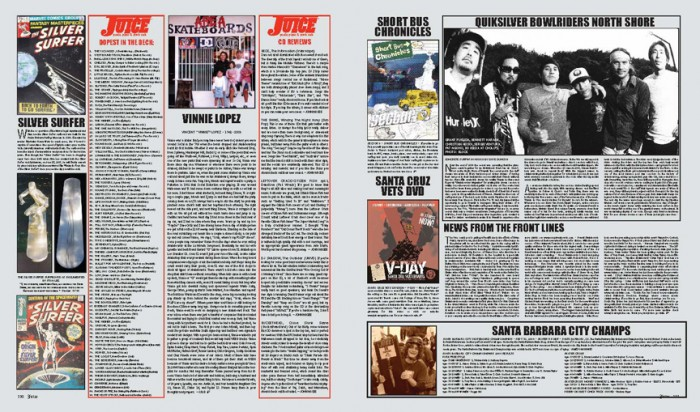 JUICE MAGAZINE CD REVIEWS 62