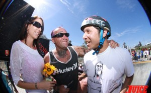 TRACY ADAMS, JAY ADAMS, CHRISTIAN HOSOI. Photo: Dan Levy