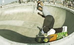 Pat Ngoho ZFlex Master Crafted Skateboard at Venice Skatepark
