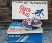 Skateboard Shoe Park Plus