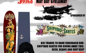 Shipyard Skates Giveaway