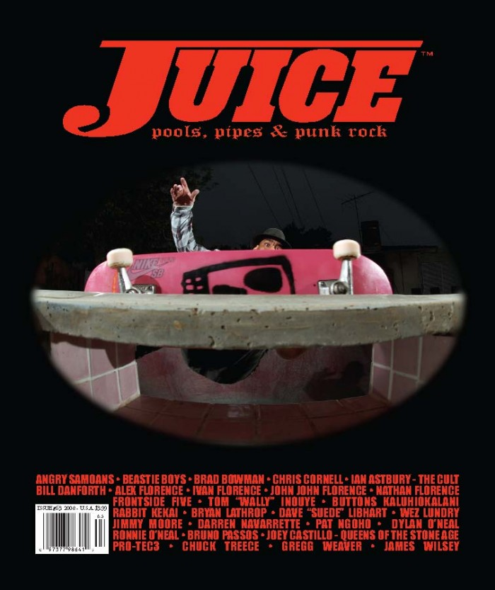 JUICE MAGAZINE 63 LANCE MOUNTAIN