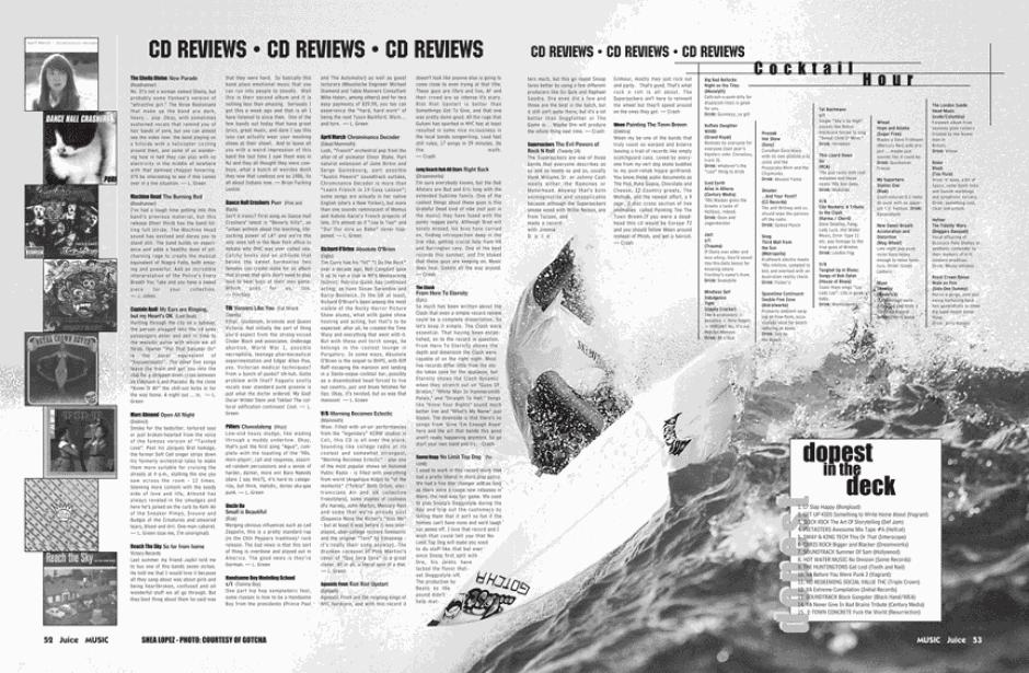 CD REVIEWS 46