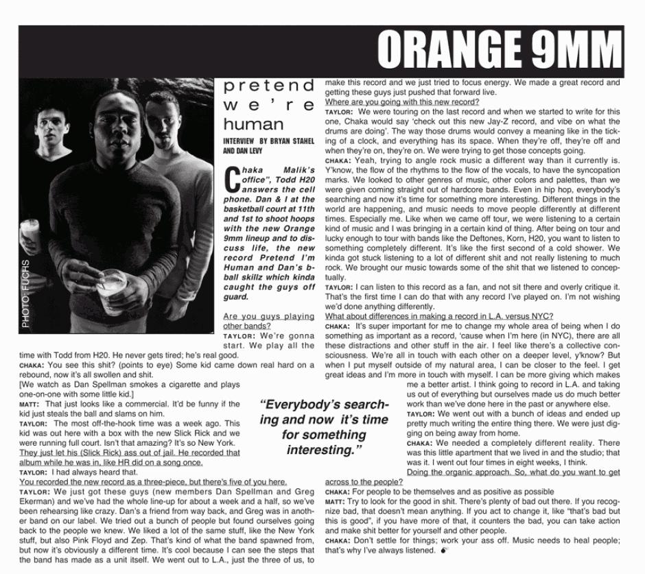 ORANGE 9MM