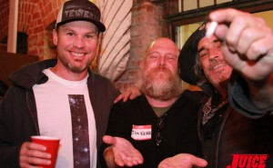 JEFF AMENT, TIM KERR, STEVE OLSON. PHOTO © DAN LEVY