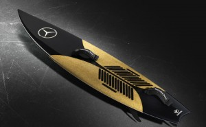 Mercedes-Benz and Garrett McNamara announce new surfboards by Polen Surfboards