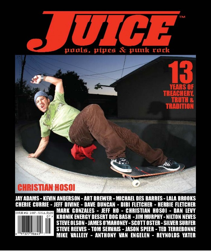 JUICE MAGAZINE 62 CHRISTIAN HOSOI